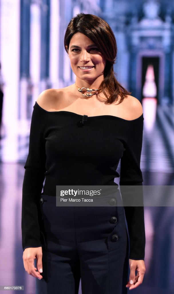 Valeria Solarino attends 'Che Tempo Che Fa' tv show at Rai Milan Studios on May 7, 2017 in Milan, Italy.