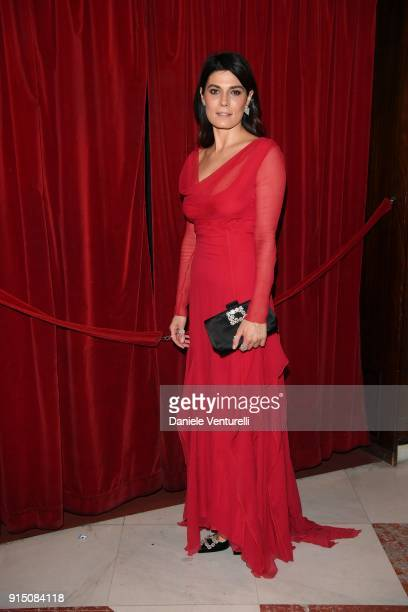 Valeria Solarino attends the first night of the 68 Sanremo Music Festival on February 6 2018 in Sanremo Italy