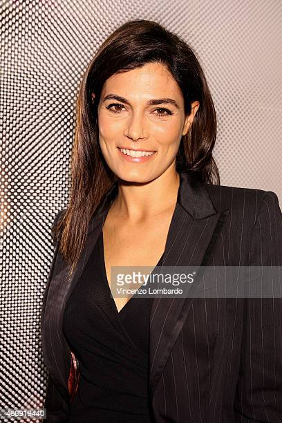 Valeria Solarino attends the  Geox For Valemour  Boutique Cocktail on March  19 2015 in 1c834157ed98