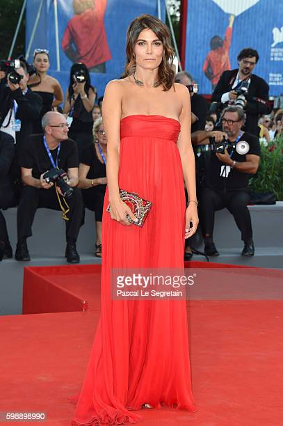 Valeria Solarino attends the premiere of 'The Young Pope' during the 73rd Venice Film Festival at Palazzo del Casino on September 3, 2016 in Venice,...