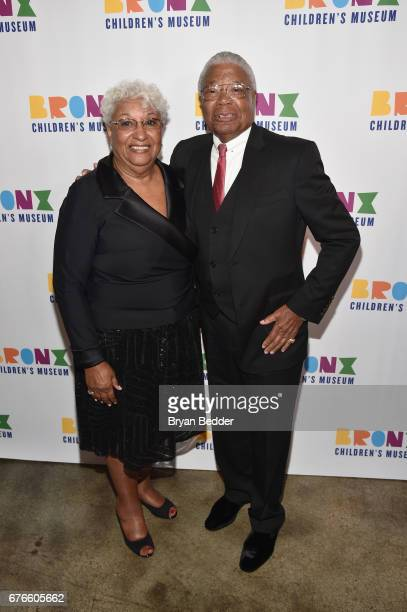 Valerie and Earl Washington attend the Bronx Children's Museum Gala at Tribeca Rooftop on May 2 2017 in New York City
