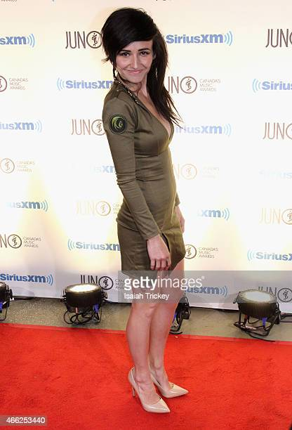Valerie Anne Poxleitner aka LIGHTS arrives at the JUNO Gala Dinner & Awards at Hamilton Convention Centre on March 14, 2015 in Hamilton, Canada.