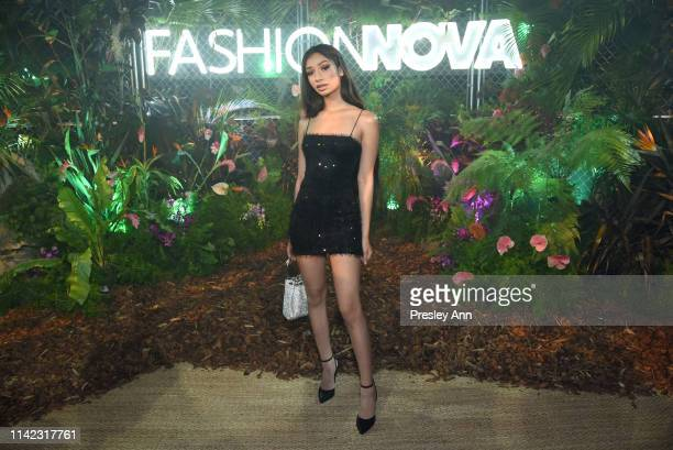 Valerie Batalla is seen as Fashion Nova Presents Party With Cardi at Hollywood Palladium on May 8 2019 in Los Angeles California