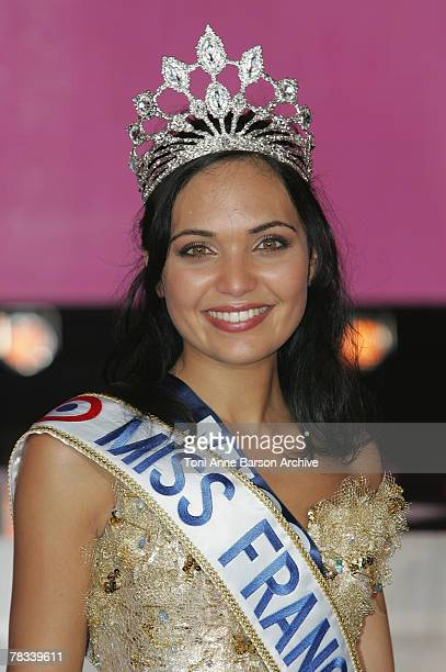 Valerie BegueMiss Reunion is elected Miss France 2008 on December 8 2007 in Dunkerque France