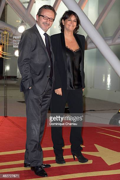 Valerie Benaim and guest attend the 'A Thousand Times Good Night' premiere during the 13th Marrakech International Film Festival on November 30 2013...