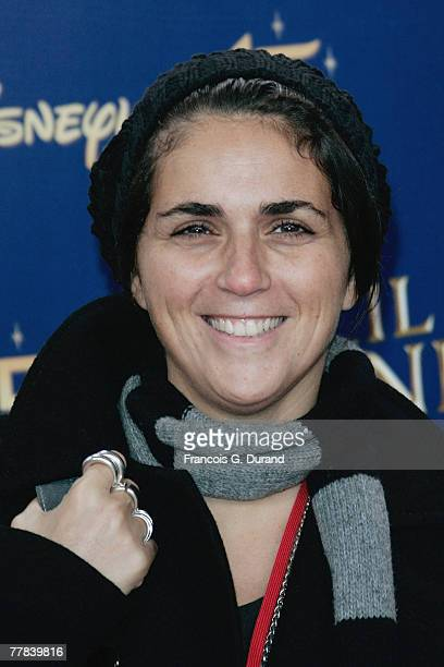 Valerie Benaim poses as she attends the premiere for Enchanted at Disneyland on november 10 2007 in Marne La Valle France