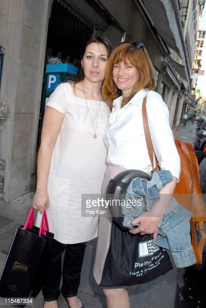 Valerie Benguigui and Florence Pernel during Cointreaupolitan's 60th Cannes Festival 2007 Before Party at Appartement 396 Rue St Honore in Paris...