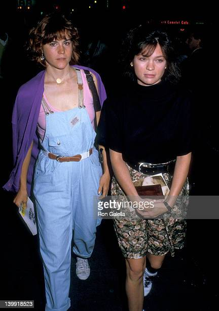 Valerie Bertinelli and Ally Sheedy at the Play Performance of 'SpeedthePlow' Royale Theatre New York City