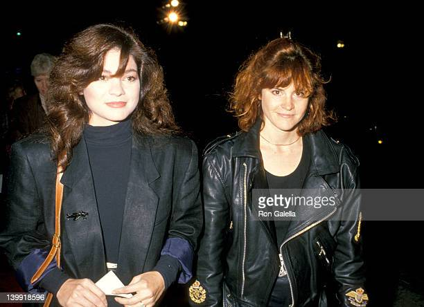 Valerie Bertinelli and Ally Sheedy at the Premiere of 'Punchline' Mann's Chinese Theatre Hollywood