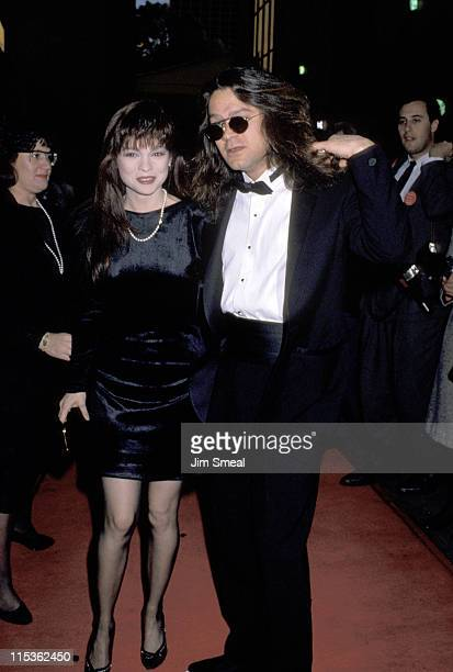 Valerie Bertinelli and Eddie Van Halen during 16th Annual People's Choice Awards at Universal Ampitheater in Universal City California United States