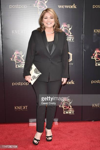 Valerie Bertinelli attends the 46th annual Daytime Emmy Awards at Pasadena Civic Center on May 05 2019 in Pasadena California