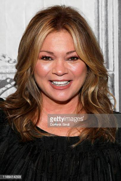 Valerie Bertinelli attends the Build Series to discuss 'Kids Baking Championship Family Restaurant Rivals' at Build Studio on August 21 2019 in New...