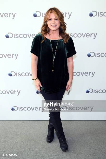 Valerie Bertinelli attends the Discovery Upfront 2018 at the Alice Tully Hall at Lincoln Center on April 10 2018 in New York City