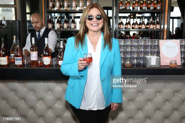 Valerie Bertinelli attends the Food Network Cooking Channel New York City Wine Food Festival presented by Capital One Rooftop Rosé hosted by Valerie...