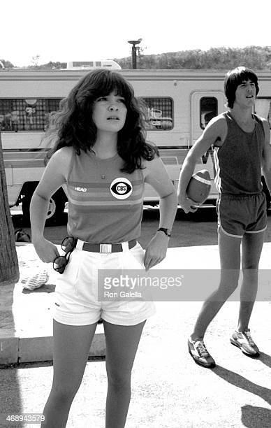 Valerie Bertinelli attends the taping of 'Battle of the Network Stars' on October 6 1979 at Pepperdine University in Malibu California
