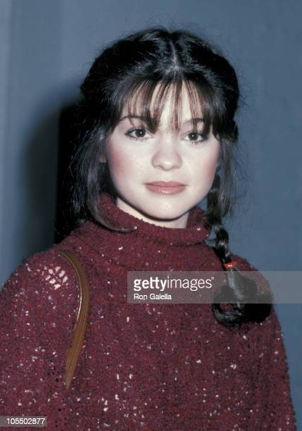 Valerie Bertinelli during One Day At A Time Wrap Party at Chasen's Restaurant in Beverly Hills California United States