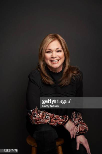 Valerie Bertinelli of Food Network's 'Family Food Showdown' poses for a portrait during the 2019 Winter TCA at The Langham Huntington, Pasadena on...