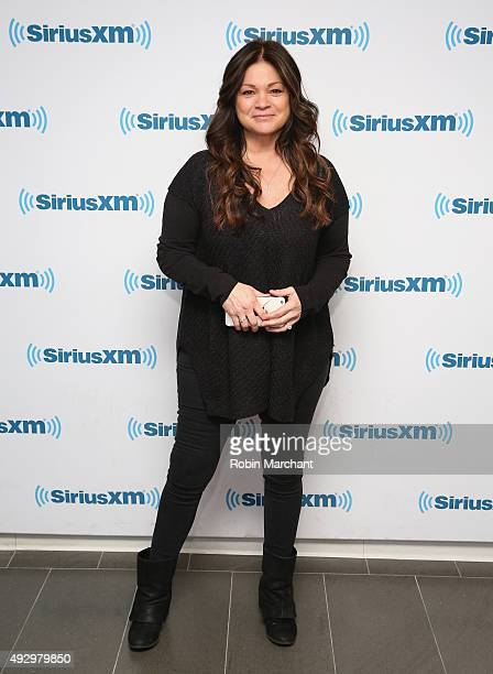 Valerie Bertinelli visits at SiriusXM Studios on October 16 2015 in New York City