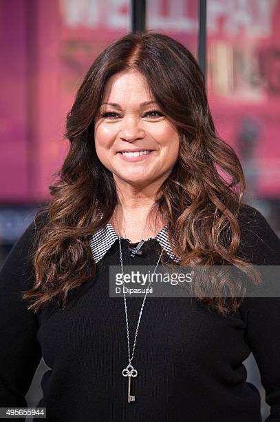 Valerie Bertinelli visits Extra at their New York studios at HM in Times Square on November 4 2015 in New York City