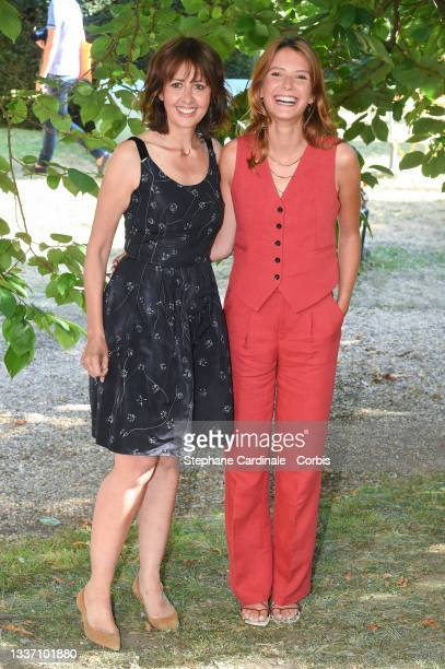 """Valérie Bonneton and Josephine Japy attend """"Eugenie Grandet"""" Photocall during the 14th Angouleme French-Speaking Film Festival - Day Six on August..."""