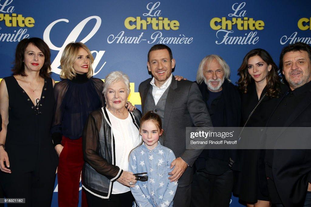 """La  Ch'tite Famille"" Paris Premiere  At Cinema  Gaumont Opera Capucines In Paris"
