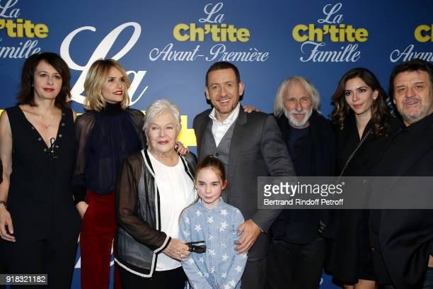 Valerie Bonneton Laurence Arne Line Renaud Juliane Lepoureau Dany Boon Pierre Richard Yael Boon and Guy Lecluyse attend the 'La Ch'tite Famille'...