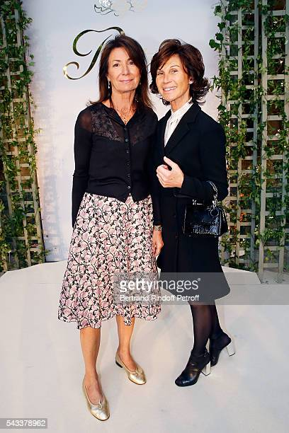 Valerie Breton and Sylvie Rousseau attend the 'Colonne Vendome' Is Unveiled After Restoration Works on June 27 2016 in Paris France