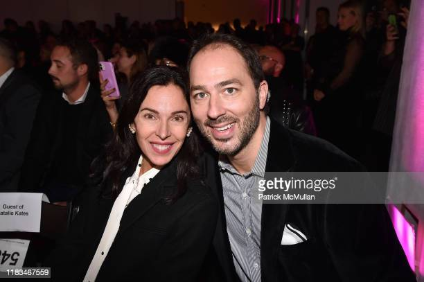 Valerie DeMuzio and Prince Dushan of Yugoslavia attend 25th Annual ARTWALK NY Benefiting Coalition For The Homeless Presented By Max Mara at Spring...