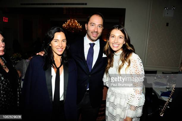 Valerie Demuzio Prince Dushan of Yugoslavia and Dr Bojana Jankovic Weatherly attend Lifeline New York Hosts Annual Benefit Luncheon At The...