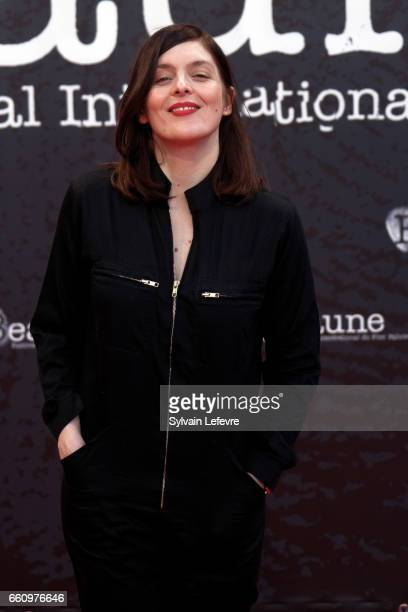 Valerie Donzelli attends 9th Beaune International Thriller Film Festival on March 30 2017 in Beaune France