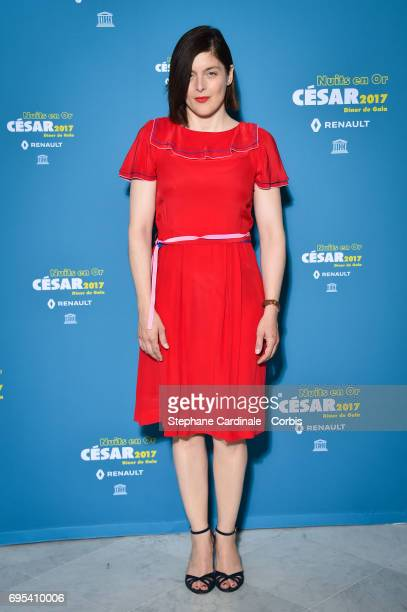 Valerie Donzelli attends 'Les Nuits en Or 2017' Dinner Gala at Unesco on June 12 2017 in Paris France
