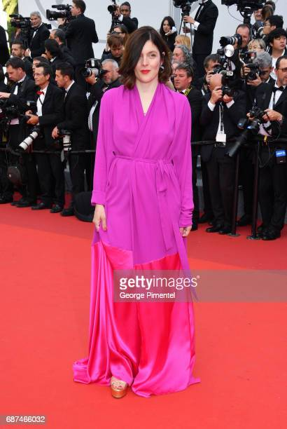 Valerie Donzelli attends the 70th Anniversary screening during the 70th annual Cannes Film Festival at Palais des Festivals on May 23 2017 in Cannes...