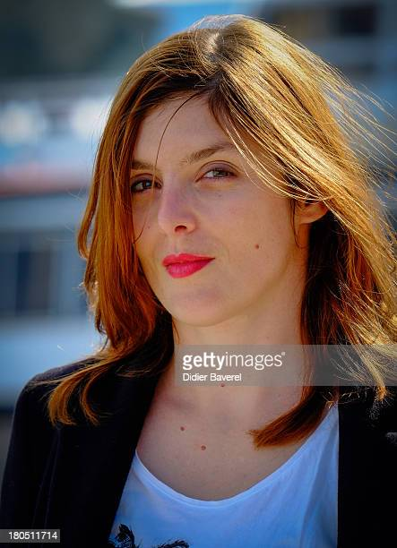 Valerie Donzelli poses during the photocall of 'Que D'Amour' at 15th Festival of TV Fiction on September 13 2013 in La Rochelle France