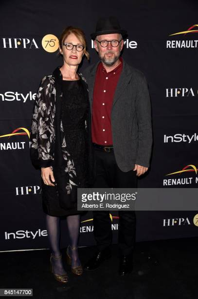 Valerie Faris and Jonathan Dayton attend the HFPA InStyle annual celebration of 2017 Toronto International Film Festival at Windsor Arms Hotel on...