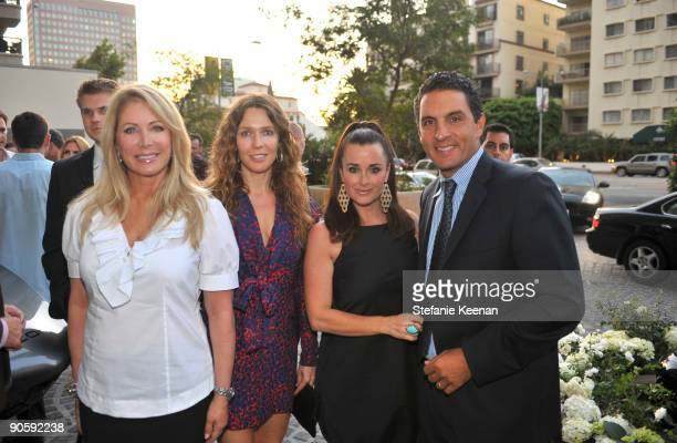 Valerie Fitzgerald Charlotte Bjorlin Kyle Richards and Mauricio Umansky attend The Carlyle Residences on September 10 2009 in Los Angeles California