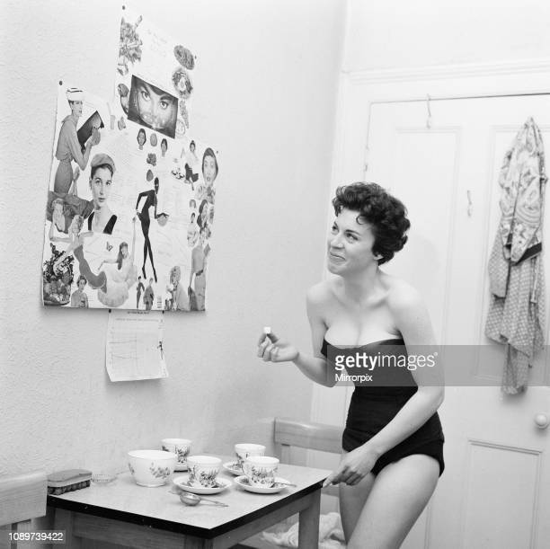 Valerie Gaunt British actress will be starring in her first film The Curse of Frankenstein as Justine Wednesday 3rd April 1957 Valerie consults a...