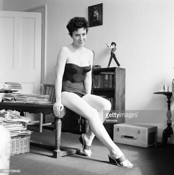 Valerie Gaunt British actress will be starring in her first film The Curse of Frankenstein as Justine Wednesday 3rd April 1957