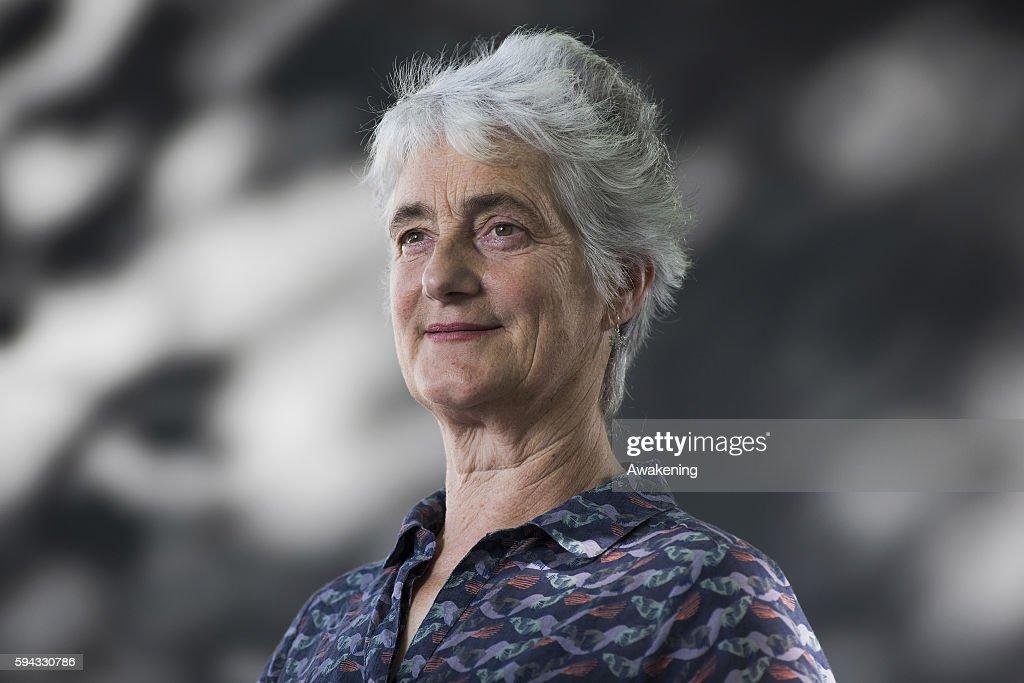 Valerie Gillies Attends The Edinburgh International Book Festival On