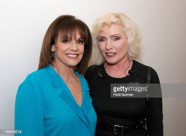 Valerie Harper and Debbie Harry meet backstage at GOOD MORNING AMERICA 5/13/14 airing on the ABC Television Network VALERIE HARPER DEBBIE HARRY...