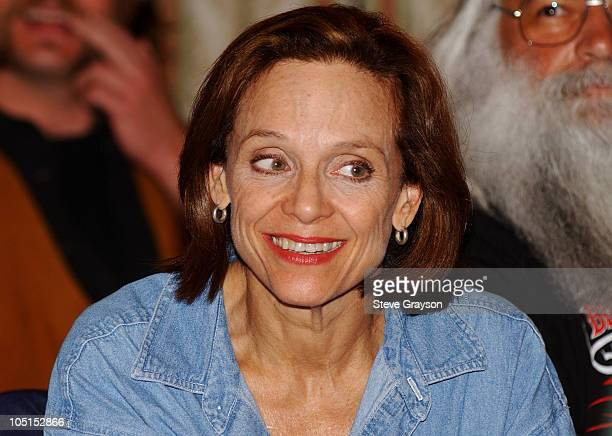 Valerie Harper during The SAG/AFTRA Consolidation Vote at Radisson Wilshire Plaza Hotel in Los Angeles, California, United States.