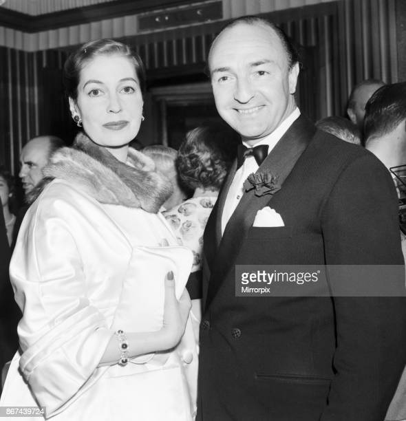 Valerie Hobson and husband John Profumo Minister of State for Foreign Affairs seen here at the premiere of Some Like It Hot 15th May 1959