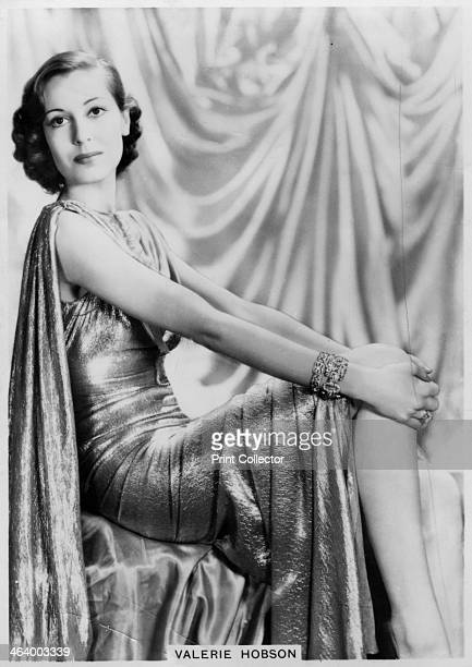 Valerie Hobson British actress c1936c1939 Valerie Hobson was a leading lady in the British cinema of the 1930s and 1940s Among her best known roles...