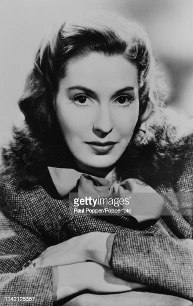 Valerie Hobson , Irish-born actress, circa 1940. Two of Hobson's most memorable roles were as the adult Estella in David Lean's adaptation of Great...