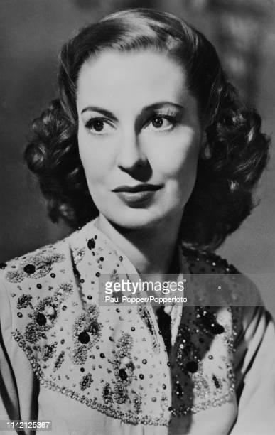Valerie Hobson Irishborn actress circa 1940 Two of Hobson's most memorable roles were as the adult Estella in David Lean's adaptation of Great...