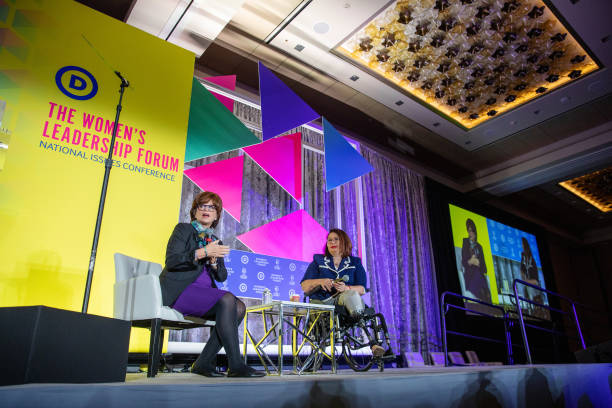 DC: Key Speakers At The DNC Women's Leadership Forum Conference