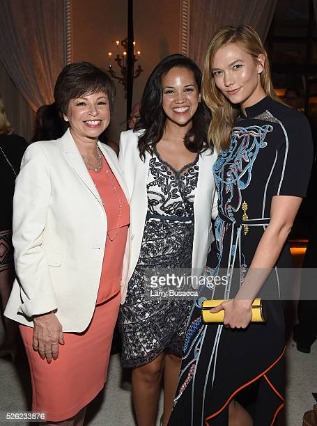 Valerie Jarrett Laura Jarrett and Karlie Kloss attend TIME and People's Annual White House Correspondents' Association Cocktail Party at St Regis...