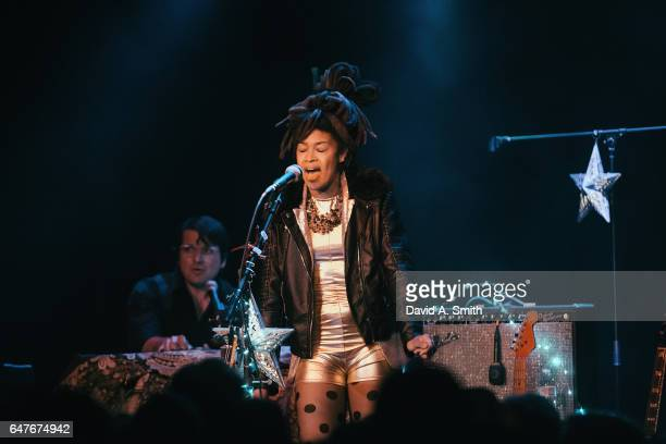 Valerie June performs at Saturn Birmingham on March 3 2017 in Birmingham Alabama