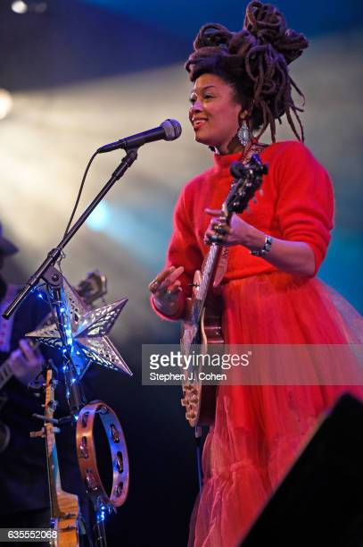 Valerie June performs at The Bombard Theater on February 15 2017 in Louisville Kentucky