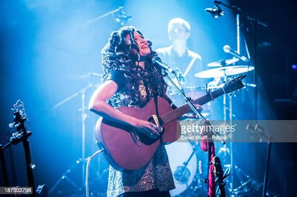 Valerie June performs during Les Inrocks Festival at La Cigale on November 9 2013 in Paris France