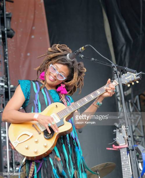 Valerie June performs onstage during day 1 of Pilgrimage Music & Cultural Festival 2018 on September 22, 2018 in Franklin, Tennessee.
